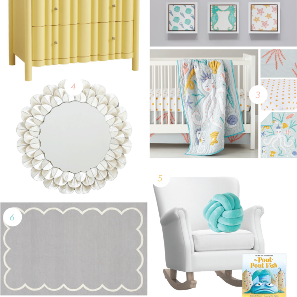 Marine | Nursery Mood Board